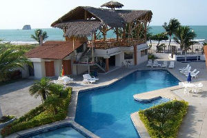a superior hotel in Atacames on the Ecuadorian coast