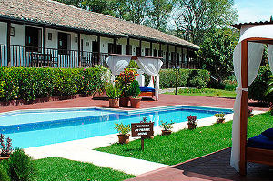 a luxury hacienda in the Andean Mountains of Ecuador - ideal for a short getaway break