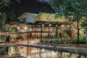 Itamandi Lodge in the Amazon rainforest of Ecuador