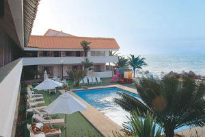 a luxurious hotel on the Pacific coast of Ecuador with fine beaches