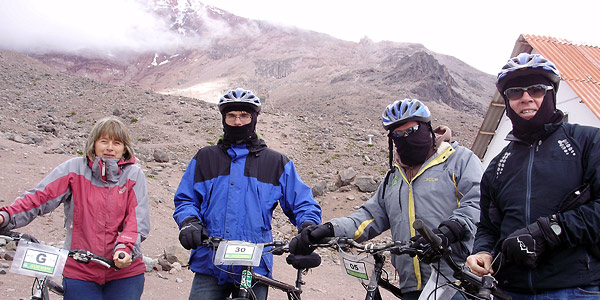 mountain biking in the andes with a professional company ensures your safety