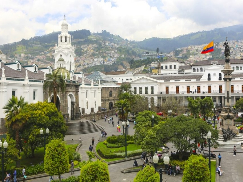 visiting the cities of Quito and Cuenca in Ecuador