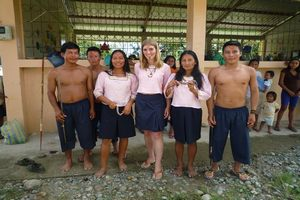 study abroad program in the Ecuadorian Amazon for international students learning Spanish and conservation