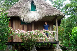 an amazon lodge adventure experience in Eucador